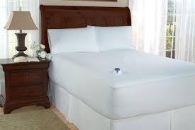 soft heat 233t dobby stripe waterproof heated mattress pad
