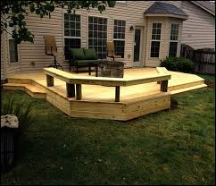 Backyard Deck Design Ideas Backyard Deck Designs Plans Backyard Deck Plans Home Design Ideas