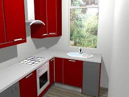 Modern Small Kitchen Design Ideas kitchen ideas small red modern acrylic kitchen cabinet with