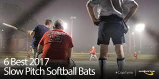 best slowpitch softball bats 6 best pitch bats jpg