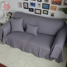 grey twill sofa slipcover fluffy sofa cover home the honoroak