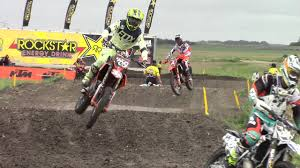 canadian pro motocross nolan heppner crashes while leading canadian mx nationals in