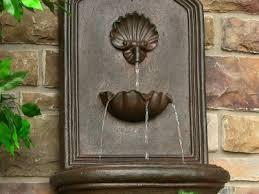 Garden Fountains And Outdoor Decor Wooden Log Waterfall Garden Fountains Outdoor Decor Wooden