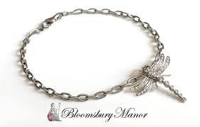 tiffany bracelet images Tiffany co platinum diamond dragonfly bracelet bloomsbury jpg