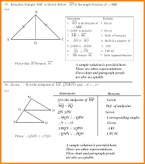 Cpctc Worksheet Answers 11 Geometry Problems And Answers Math Cover