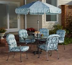 Outdoor Patio Furniture Cushions Replacement by Mainstays Willow Springs 6 Piece Patio Dining Set Replacement
