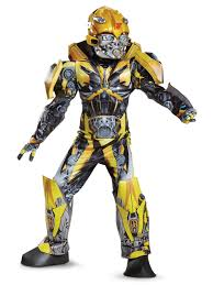 Transformer Halloween Costume Transformer 5 Bumblebee Prestige Child Costume Wholesale