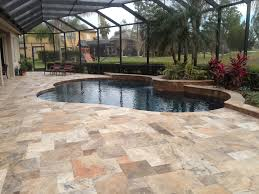 Travertine Patio Outdoor Patio Floors Fabulous Ceramic Tile Flooring Of Patio Floor