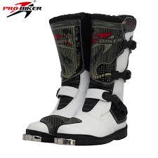 long road moto boot pro biker pu leather motorcycle motocross racing long boots shoes