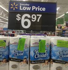 White Cloud Bathroom Tissue - white cloud bath tissue as low as 17 per roll at walmart
