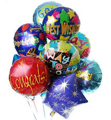 mylar balloon bouquets congratulations balloon bouquet 12 mylar balloons make