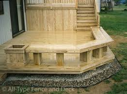 Deck Planters And Benches - 13 best deck seating images on pinterest terraces backyard