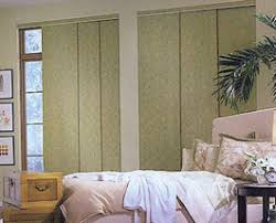 Sliding Panels For Patio Door Blackout Fabric Sliding Panels Sheerweave Vinyl And Blackout