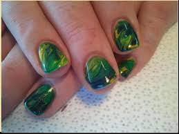 green gel nail ideas best nail 2017 rainbow gel nail art design