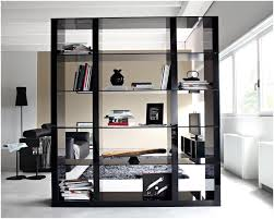 bookshelf room divider with door awesome bookcase room dividers