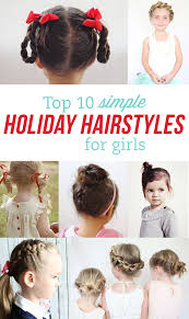 Simple N Easy Hairstyles by Simple Holiday Hairstyles For Girls Our Favorite Curlers Dance
