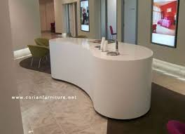 Acrylic Reception Desk 2016 New Style Acrylic Solid Surface Curved Reception Desk Buy