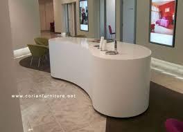 Corian Reception Desk Corian Shaped Small Reception Desk For Salon Buy Used Reception