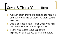 cover u0026 thank you letters a cover letter draws attention to the