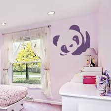 Panda Nursery Decor by Cute Wall Decals For Nursery Room Inspiration Home Designs