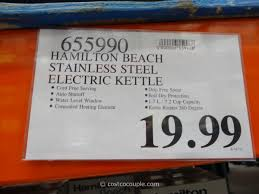 Costco Water Ridge Faucet Hamilton Beach Stainless Steel Electric Kettle