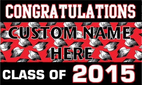 congratulations graduation banner custom birthday banners birthday1 color las vegas black 1