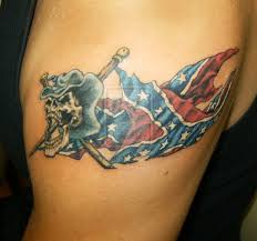 Mexico Flag Tattoo Cowboy Skull With Rebel Flag Tattoo Photos Pictures And