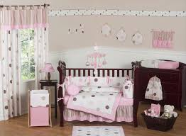 baby nursery decor graceful bedroom ideas decorating baby girl graceful bedroom ideas decorating baby girl nursery with kharug polka dot patterns lines wall stickers removable soft brown pink colors