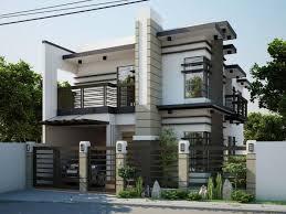 modern style home plans modern contemporary house designs philippines o e regarding