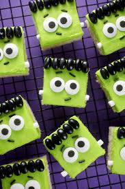 Sugar Cookies For Halloween Frankensquares U2013 Bakerella Com