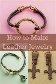 65 best leather jewelry making images on pinterest bijou