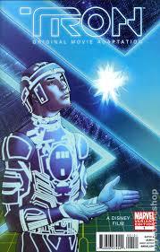 tron original movie adaptation 2010 marvel comic books