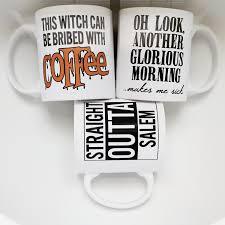 halloween coffee mug handmade this witch can be brided with coffee mug halloween