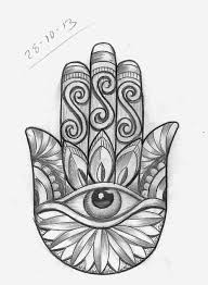 44 best hamsa and owl tattoo sketches images on pinterest draw