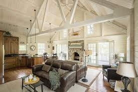 How To Decorate A Log Home How To Decorate With Brown Leather Furniture Klein On Design