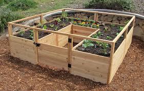 Vegetable Garden Bed Design by Raised Vegetable Garden Kit Gardening Ideas
