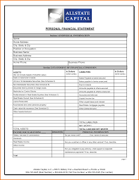business financial profit and loss statement template sample