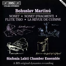 revue de cuisine nonets trio la revue de cuisine by martinů bohuslav cd with