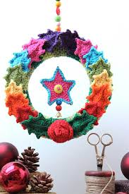 crocheted tree ornaments decor advisor
