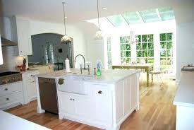 kitchen islands with sink small kitchen island with sink size islands sinks image of standard