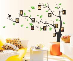 buy uberlyfe large photo picture frame tree vine branch wall buy uberlyfe large photo picture frame tree vine branch wall sticker size 4 left facing wall covering area 107cm x 97cm ws 86 bk online at low prices