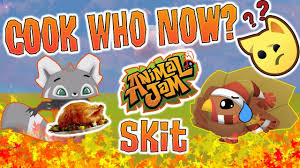 whose the turkey for thanksgiving animal jam skit part 1