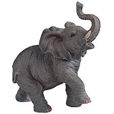elephant statue amazon com stealstreet ss g 54135 small polyresin elephant with