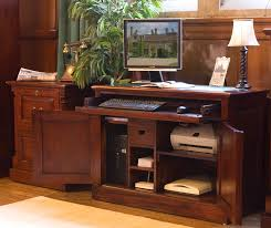 Mahogany Office Furniture by Impressive 50 Wood Home Office Desks Design Inspiration Of Solid