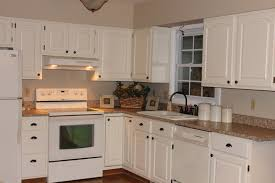 Repainting Kitchen Cabinets Ideas Gray Cream Painted Kitchen Cabinets Ideas And Cream Painted