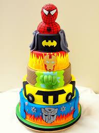 sweet bites cakes superhero cake