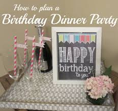 how to decorate birthday party at home how to plan a birthday dinner party u2013 la vie de brie