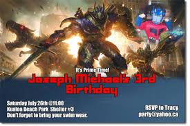 transformers birthday transformers birthday invitations bumblebee birthday invitations