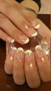 12 best bridal nail images on pinterest bridal nails french