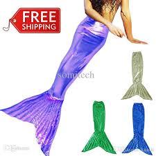 Mermaid Halloween Costumes Kids Wholesale Mermaid Tail Kids Mermaid Tails Girls Cosplay